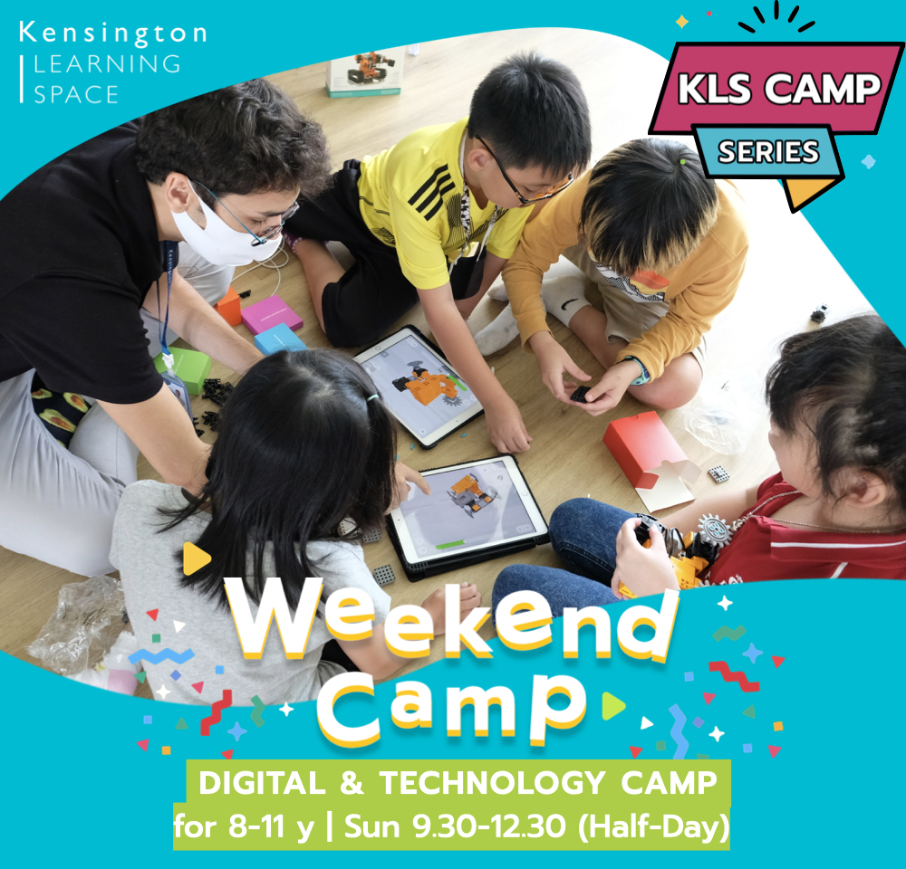 Kensington Learning Space_Weekend Camp_STEAM Technology